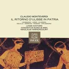 Claudio Monteverdi (1567-1643): Il ritorno d'Ulisse in patria, 3 CDs
