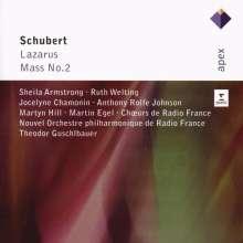 Franz Schubert (1797-1828): Lazarus D.689, 2 CDs