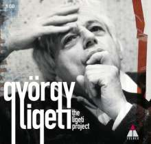 György Ligeti (1923-2006): The Ligeti Project (Warner Classical), 5 CDs