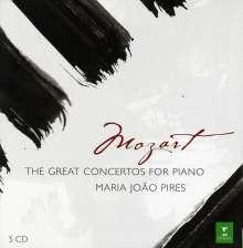 Wolfgang Amadeus Mozart (1756-1791): Klavierkonzerte Nr.9,12-14,17,19-21,23,26,27, 5 CDs