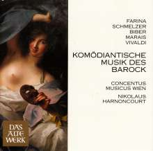 Komödiantische Musik des Barock, CD