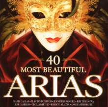 40 Most Beautiful Arias, 2 CDs