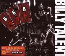Billy Talent: 666 Live (CD + DVD), CD