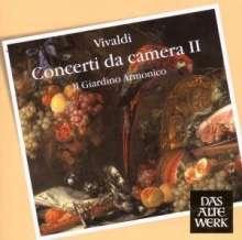 Antonio Vivaldi (1678-1741): Kammerkonzerte Vol.2, CD
