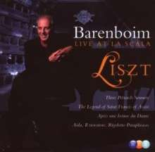 Daniel Barenboim - Liszt Live at La Scala, CD