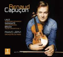 Renaud Capucon - Lalo / Sarasate / Bruch, CD