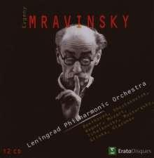 Yevgeni Mravinsky Edition, 12 CDs