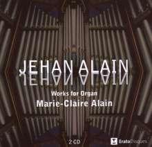 Jehan Alain (1911-1940): Sämtliche Orgelwerke, 2 CDs