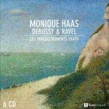 Monique Haas - Debussy & Ravel (Erato Recordings), 6 CDs