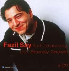 Fazil Say,Klavier, 4 CDs