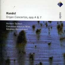 Georg Friedrich Händel (1685-1759): Orgelkonzerte Nr.1-12, 2 CDs