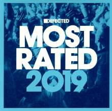 Defected Presents Most Rated 2019, 3 CDs