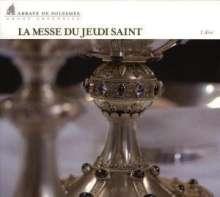 Abbaye De Solesmes - La Messe Du Jeudi Saint, CD