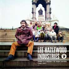 Lee Hazlewood: There's A Dream I've Been Saving: Lee Hazlewood Industries 1966 - 1971 (4CD + DVD), 4 CDs und 1 DVD