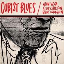 Alan Vega, Alex Chilton & Ben Vaughn: Cubist Blues (remastered), 2 LPs