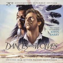 John Barry (1933-2011): Filmmusik: Dances With Wolves (DT: Der mit dem Wolf tanzt) (25th Anniversary Expanded Limited Edition), 2 CDs