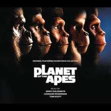 Filmmusik: Planet Of The Apes (DT: Planet der Affen), 5 CDs