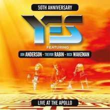 Yes: Live At The Apollo: 50th Anniversary (Limited-Edition) (Colored Vinyl), 3 LPs