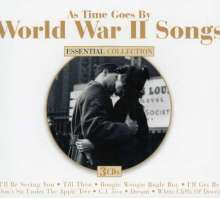 As Time Goes By - World War II Songs, 3 CDs