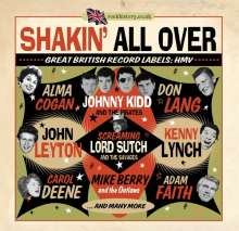 Shakin' All Over - Great British Record Labels: HMV, 2 CDs