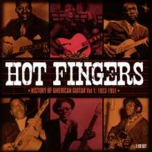 Hot Fingers: History Of American Guitar Vol.1, 2 CDs