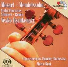Wolfgang Amadeus Mozart (1756-1791): Violinkonzert Nr.5 A-dur KV 219, SACD