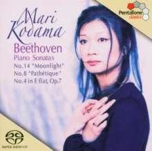 Ludwig van Beethoven (1770-1827): Klaviersonaten Nr.4,8,14, SACD