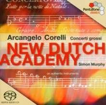 Arcangelo Corelli (1653-1713): Concerti grossi op.6 Nr.4,8,11,12, Super Audio CD