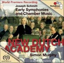Joseph Schmitt (1734-1791): Frühe Symphonien & Kammermusik, Super Audio CD