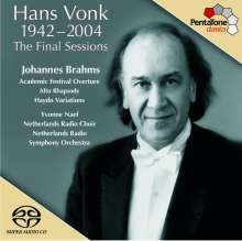 Hans Vonk - The Final Session, Super Audio CD