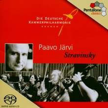 Igor Strawinsky (1882-1971): Concerto in D, SACD