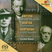Karl Amadeus Hartmann (1905-1963): Concerto funebre für Violine & Streicher, Super Audio CD