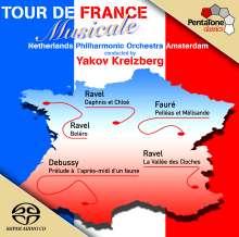 Tour de France Musicale, Super Audio CD