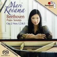 Ludwig van Beethoven (1770-1827): Klaviersonaten Nr.1-3, SACD