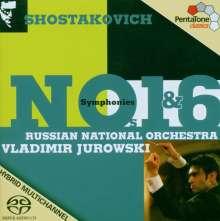 Dmitri Schostakowitsch (1906-1975): Symphonien Nr.1 & 6, SACD