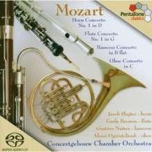 Wolfgang Amadeus Mozart (1756-1791): Bläserkonzerte, SACD