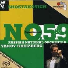 Dmitri Schostakowitsch (1906-1975): Symphonien Nr.5 & 9, Super Audio CD