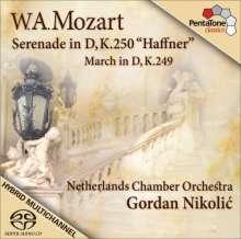 "Wolfgang Amadeus Mozart (1756-1791): Serenade Nr.7 ""Haffner"", Super Audio CD"