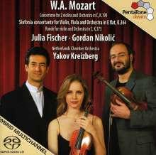 Wolfgang Amadeus Mozart (1756-1791): Sinfonia concertante KV 364, Super Audio CD