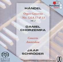 Georg Friedrich Händel (1685-1759): Orgelkonzerte Nr.5,6,8,11,13, SACD