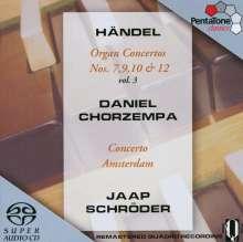 Georg Friedrich Händel (1685-1759): Orgelkonzerte Nr.7,9,10,12, SACD