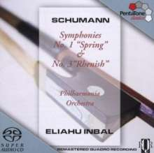 Robert Schumann (1810-1856): Symphonien Nr.1 & 3, SACD