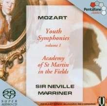 Wolfgang Amadeus Mozart (1756-1791): Symphonien Nr.7a,12,18, Super Audio CD