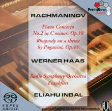 Sergej Rachmaninoff (1873-1943): Klavierkonzert Nr.2, SACD