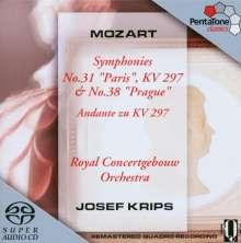 Wolfgang Amadeus Mozart (1756-1791): Symphonien Nr.31 & 38, SACD