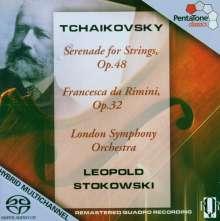 Peter Iljitsch Tschaikowsky (1840-1893): Francesca da Rimini op.32, SACD