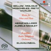Heinz Holliger spielt Oboenkonzerte, Super Audio CD