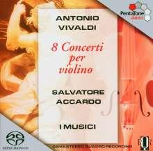 Antonio Vivaldi (1678-1741): Violinkonzerte RV 188,285a,294a,299,326,354,373,374, SACD