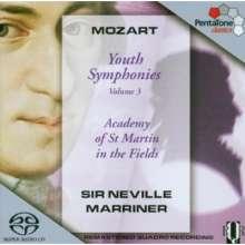 Wolfgang Amadeus Mozart (1756-1791): Symphonien Nr.7-9,19, SACD
