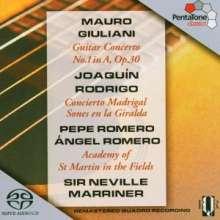Joaquin Rodrigo (1901-1999): Concierto Madrigal für 2 Gitarren & Orchester, SACD